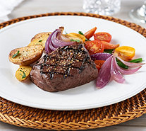 SH 11/6 Rastelli Market Fresh (8) 6 oz. Black Angus Filet Mignon - M55413