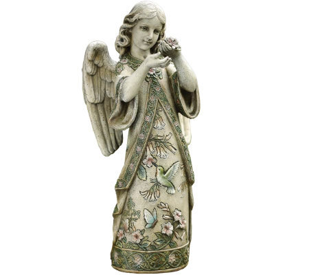 "19"" Angel Garden Decor Figure by Roman"
