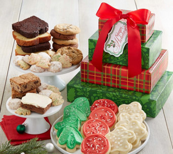 Ships 10/31 Cheryl's Holiday Plaid Bakery Tower - M115314
