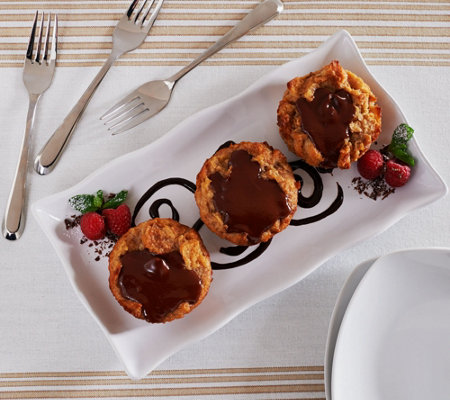 Ships 11/7 Keroler Bakery (8) Chocolate Pudding Pastry Auto-Delivery