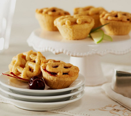 Kleine Dutch Set of 36 Imported Dutch Fruit Filled Mini Pies
