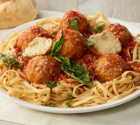 Mama Mancini's 6-lbs of Chicken Parmesan Meatballs