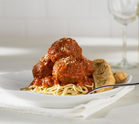 Emeril's Family Size Kicked Up (18) 3.5-3.65oz Large Meatballs with Sauce