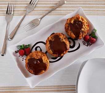Ships 12/5 Keroler Bakery (8) Chocolate Pudding Pastry Auto-Delivery - M51415