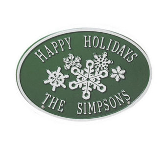 Snowflake Personalized Sign - M104516