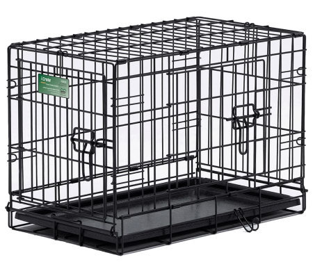 Pet Home I-Crate Double Door 30-Inch Dog Crate