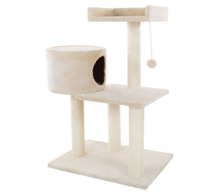 "PETMAKER 3-Tier Cat Tree 31"" Cat Tower"