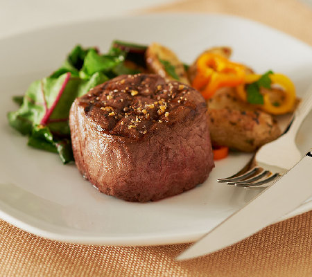 Kansas City Steak Company (4) 6 oz. Filet Mignon