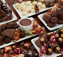Harry London 5-lb Chocolate Assortment with 12 Holiday Gift Boxes - M57116