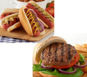 Kansas City (10) 4.5 oz. Steakburgers & (12) 3.2 oz. Hot Dogs - M47817