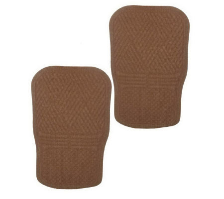 Don Aslett's Grime Stopper Set of 2 Front SeatCar Mats