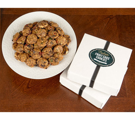 Marilyn's Gourmet (2) 42-pc Gluten-Free Fruit Cake Cookies