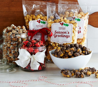 The Popcorn Factory 6 lbs. Holiday Popcorn Assortment - M53718