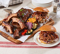 Corky's BBQ (4) 1lb. Ribs with 2lb. Wings Pork or Sausage Auto-Delivery - M55018
