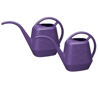 Bloem Set of 2 Aqua Rite Watering Cans, 36oz. - M114519