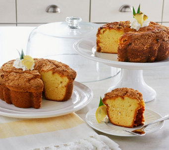 My Grandma's (2) 28 oz. Pineapple Coconut & Lemon Coconut Cakes - M50619