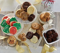 Ships 12/5 Cheryl's 94 Piece Holiday Cookie Assortment - M52419
