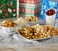 The Popcorn Factory S/3 Gift Boxes w/7 Flavors of Popcorn