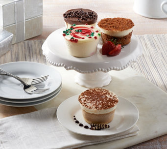 Ships 12/12 Junior's 18 Holiday Mini Cheesecakes Auto-Delivery - M53719