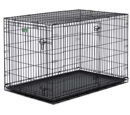 Pet Home I-Crate Double Door 42-Inch Dog Crate