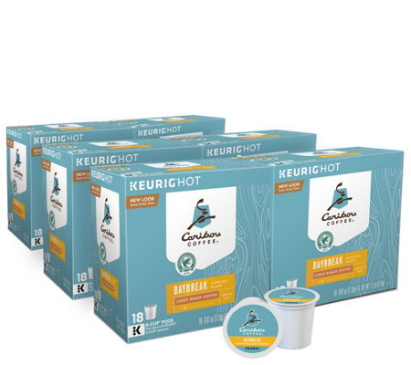 Keurig 108-ct Caribou Daybreak Morning Coffee Pods