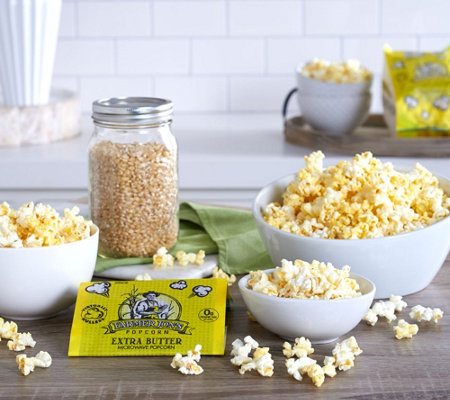 Farmer Jon's (25) 3.5-oz Virtually Hulless Popcorn Assortment