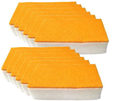 Don Aslett's 12-Piece Scrub N Wipe Sponge Set