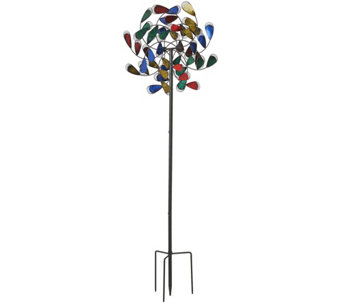 Plow & Hearth 6-foot Feather Garden Spinner - M48421