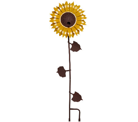 Desert Steel Outdoor Garden Flower Bird Feeder