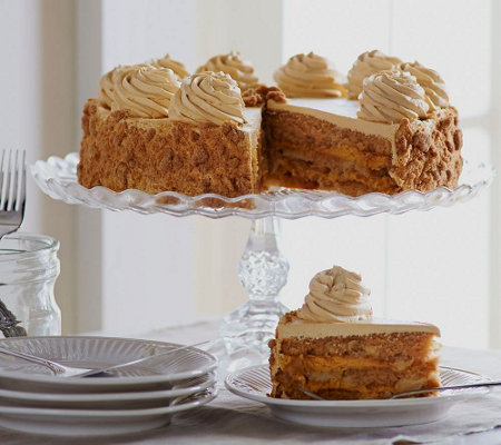 Sweet Endings 4 lb. 12 oz. Pumpkin Maple or Chunky Apple Layer Cake