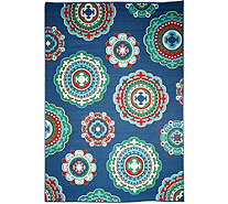 Tommy Bahama Medallion 7'x10' Indoor/Outdoor Rug - M52422