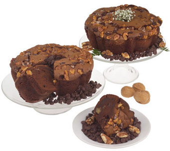 "My Grandma's (2) 8"" Ted Williams Chocolate Coffee Cakes - M102223"
