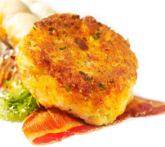 Stone Silo 18 3-oz Lobster & Shrimp Cakes - M110624