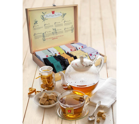 Wissotzky Tea Magic Tea Chest with 80 AssortedTeas