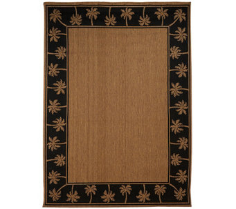 Veranda Living Indoor/Outdoor Reversible 7' x 10' Paradise Rug - M46724