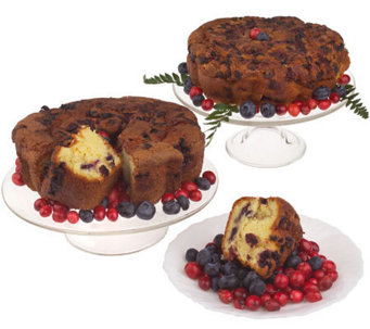 "My Grandma's (2) 8""Red, White, and Blue PatriotCoffee Cakes - M102225"