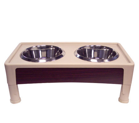 "Designer Diner 8"" Signature Series Pet Feeder -Medium"