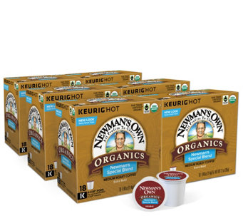 Keurig 108-ct Newman's Own Organics Blend K-CupPods - M111426