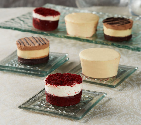 Junior's (18) Sugar Free Mini Layer Cake and Cheesecake Assortment