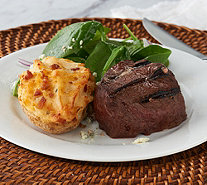Kansas City (6) 6-oz Filet Mignon with (6) 5-oz Baked Potatoes - M56326