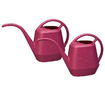 Bloem Set of 2, 144-oz Aqua Rite Watering Cans - M114527
