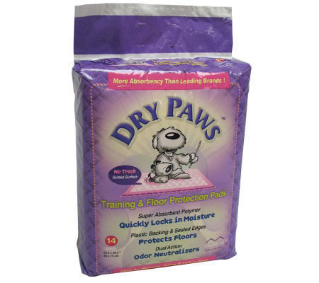 Dry Paws Training Pads Large - 14 pack