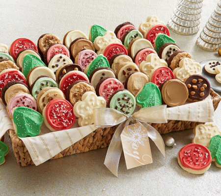 Cheryl's Large 40-Pc Frosted Cookie Basket