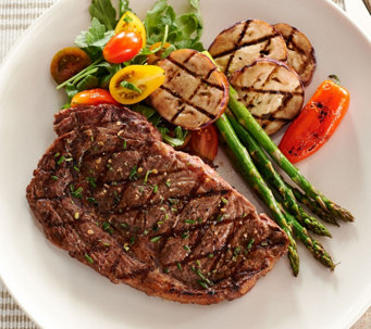 Rastelli Market Fresh (8) 8oz. Black Angus Ribeye Steaks Auto-Delivery - M50928