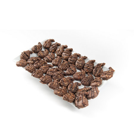 Sh 12/4 Landies Candies 36 pc Milk Chocolate Caramel Pecan Pretzel Splitz