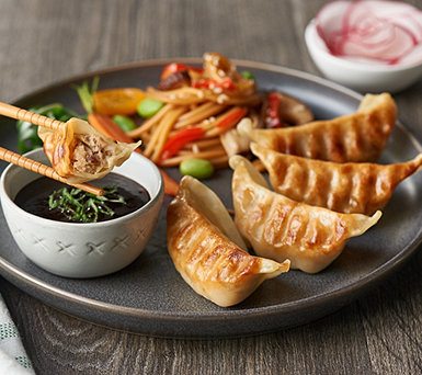 Perfect Gourmet (40) or (160) Chicken, Pork, Veggie or Beef Potstickers - M57228