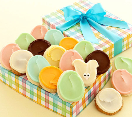 Cheryls easter cookie gift box 24 frosted cookies qvc cheryls easter cookie gift box 24 frosted cookies negle Choice Image
