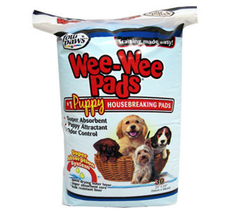 Four Paws Wee-Wee Pads - 30 Pack - M112730