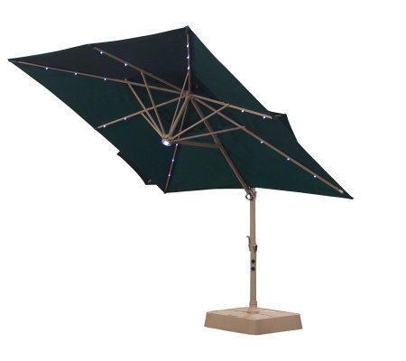 southern patio deluxe tier square offset umbrella