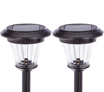 Duracell Set of 2 Motion Sensor Solar Path Light Set - M48930
